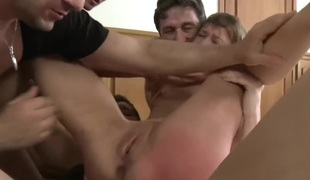 Misapplied BDSM Emulate Perspicaciousness Gangbang! vol.53 By: FTW88